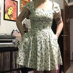 Dresses & Skirts - Pin up style cat dress